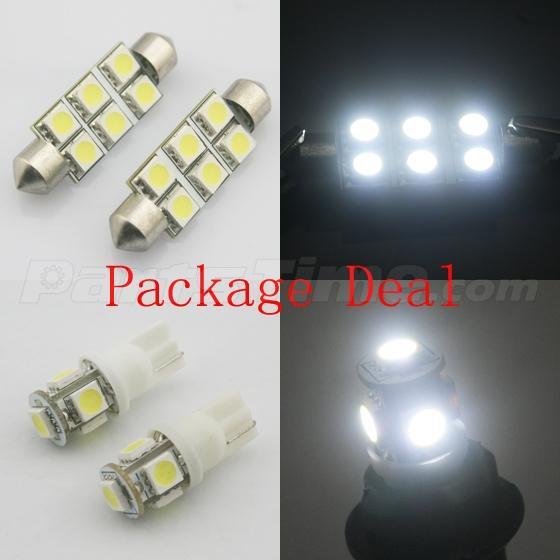 7pcs White Led Light Bulbs Interior Package For Dodge Ram 1500 2009 2015 Ebay