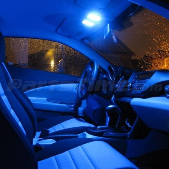 Car Interior Light Bulbs: 7 Bright Blue LED Interior Light Lamp Bulbs Package for Nissan Altima  2002-2006,Lighting