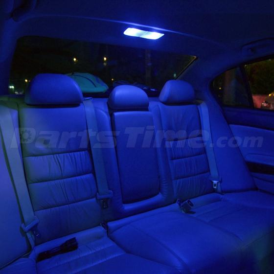 7 Bright Blue LED Interior Light Lamp Bulbs Package For