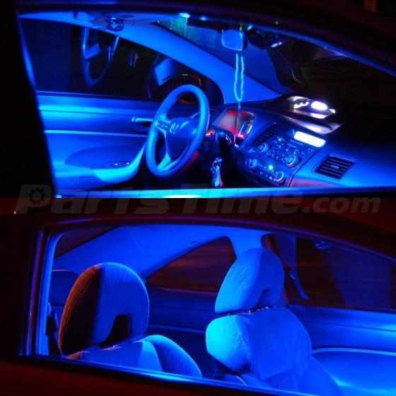 7 X Blue Led Lights Interior Package Deal For 2005 2010 Scion Tc Ebay