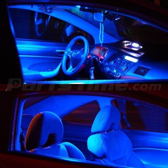9x Blue Led Lights Interior Bulbs Combo For 2011 2013 Sonata W Sunroof Ebay