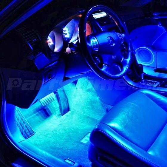 2002 Bmw M3 Interior: 18) Blue No Error LED Interior Light Kit Set Package For