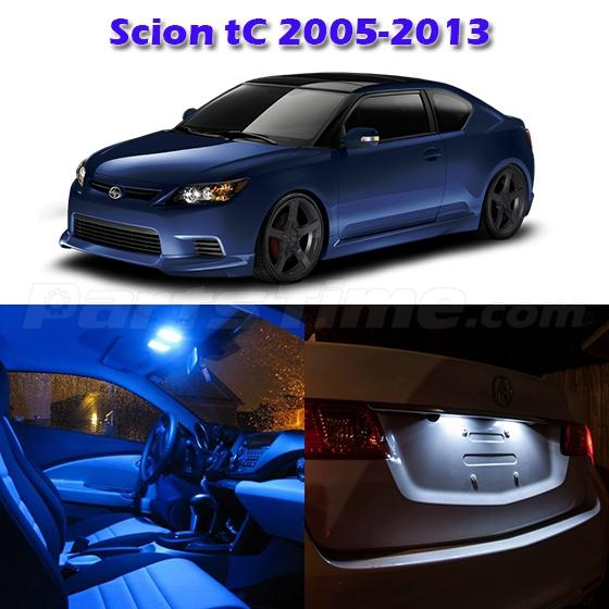 6 Bright Blue Led Light Lamp Bulb Interior Package Deal For Scion Tc 2005 2015 Ebay