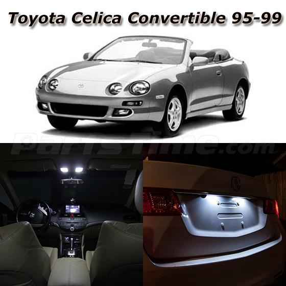 1999 Celica: 8x White LED Light Interior Bulb Package For 1995-1999