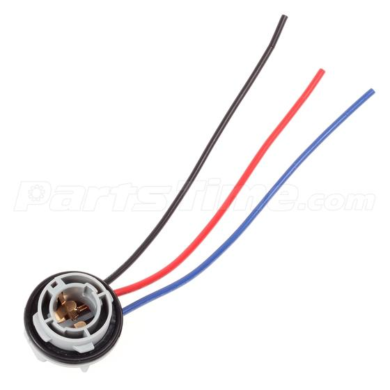 replacement plug sockets extened wiring harness 1157 2057 2357 replacement plug sockets extened wiring harness tail brake light