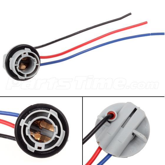 2x 1157 1158 2057 2357 adapter wiring harness sockets for tail 2x 1157 1158 2057 2357 adapter wiring harness sockets for tail brake light