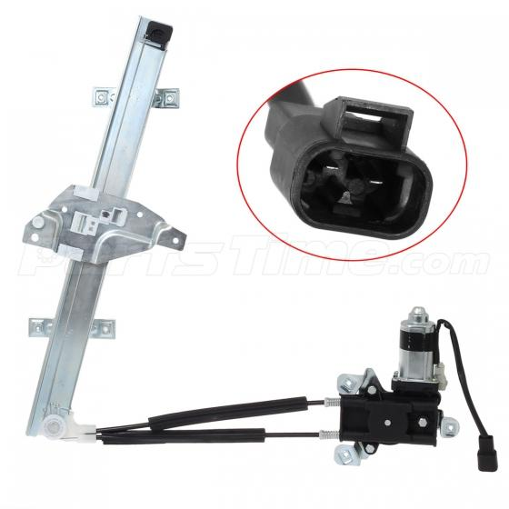Front power window regulator w motor driver side for 97 04 for 1998 buick regal window motor