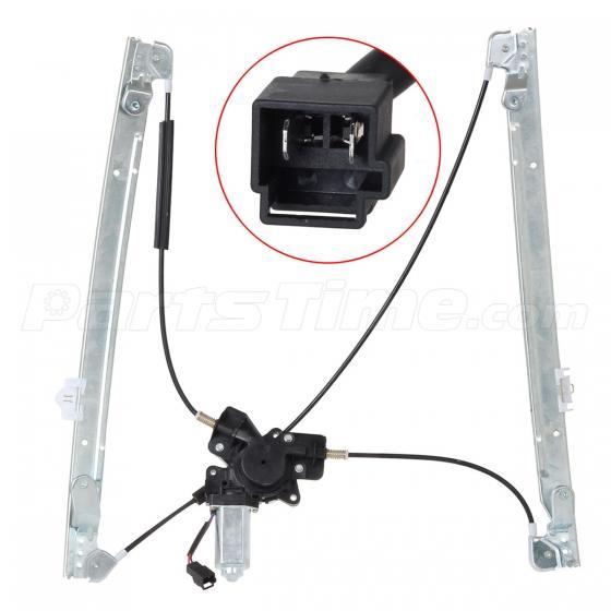 Front power window regulator left side lh for dodge for 2000 dodge caravan window motor