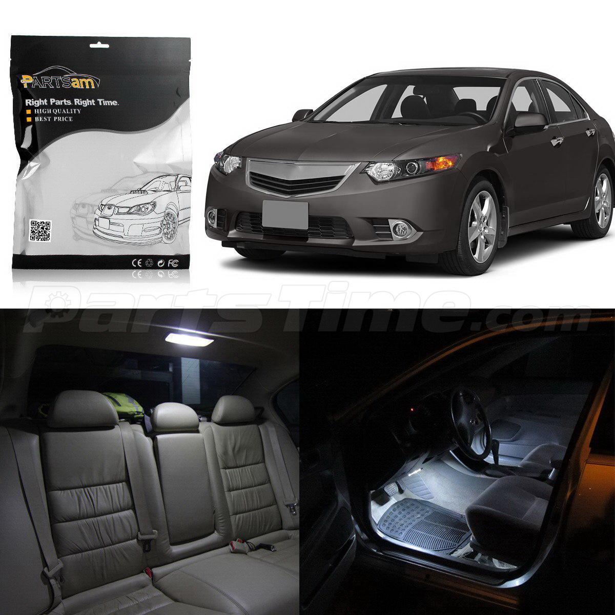 15xFit 2009-2014 ACURA TSX Sedan & Wagon Interior Lights