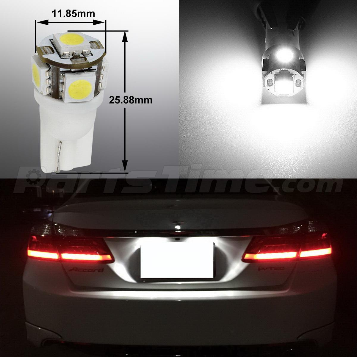 15xFit 2009-2014 ACURA TSX Sedan & Wagon Interior Lights