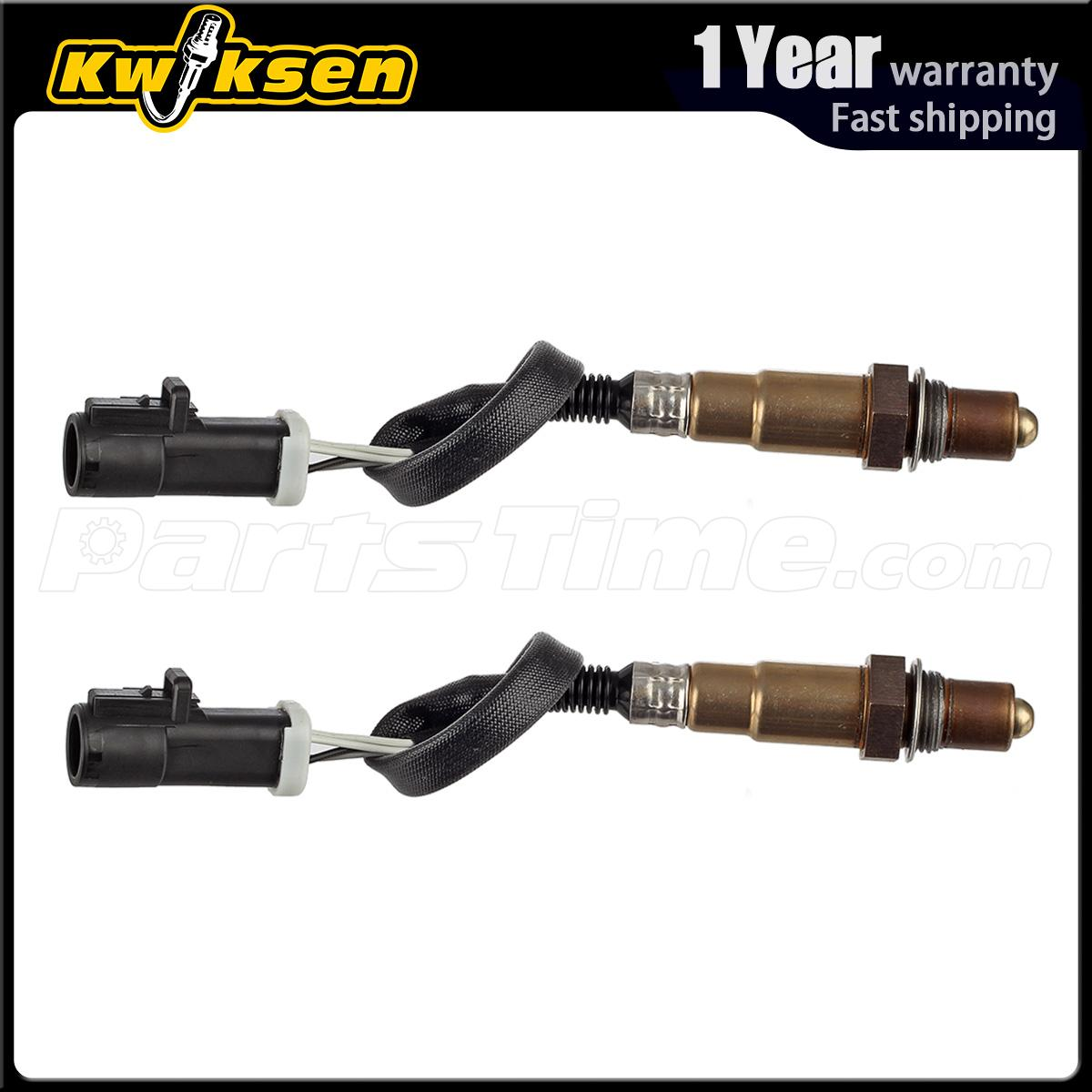 Pair Of Upstream O22 Oxygen Sensor For Ford F150 2001 2002
