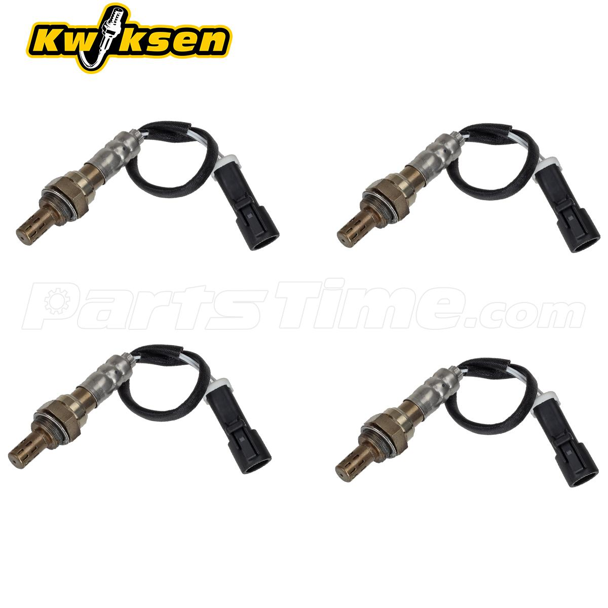 4x Oxygen Sensor 234-4071 Upper & Under For 1995-1998 Ford