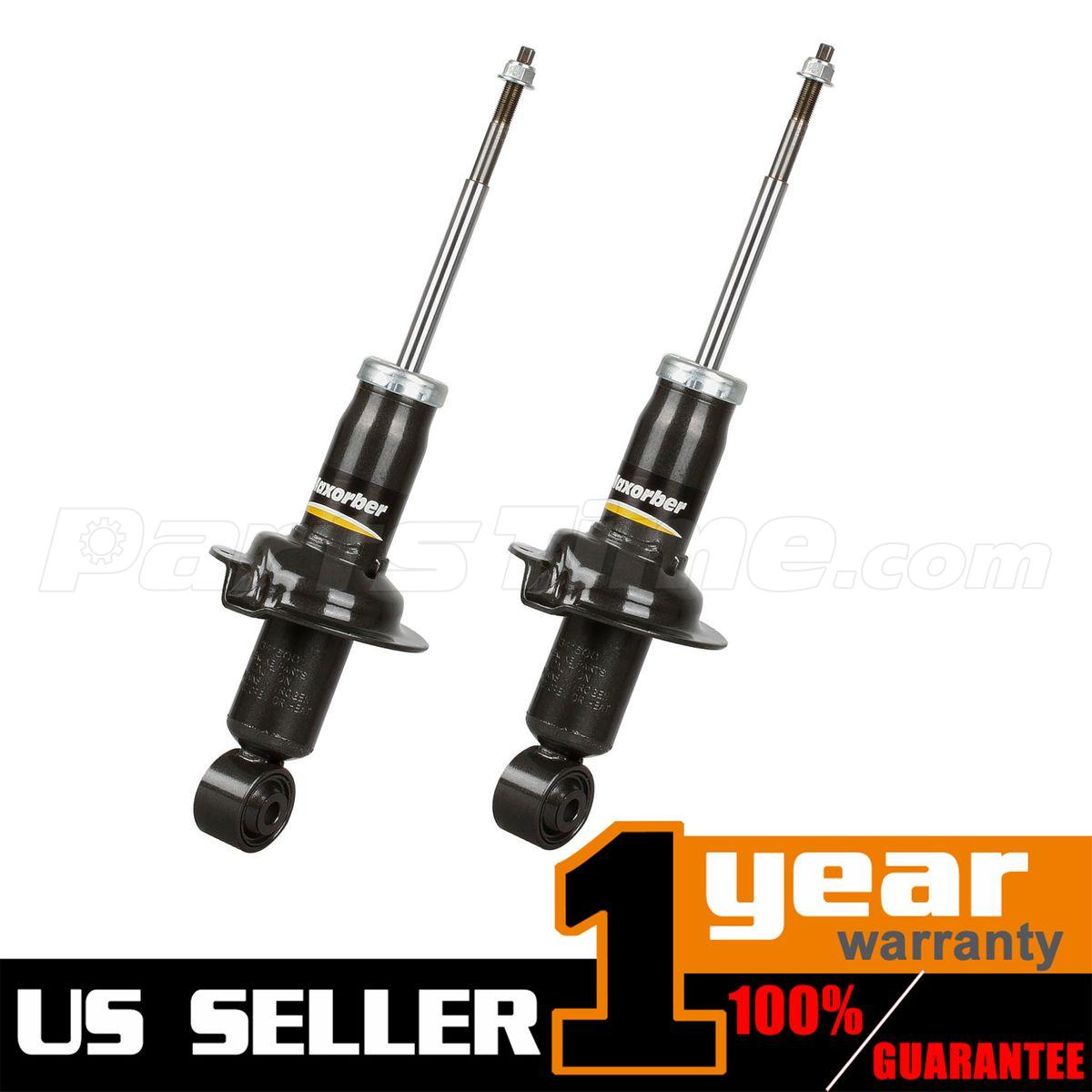 2007 Nissan Titan King Cab Transmission: NEW Pair (2) Front Left & Right Shocks Struts Absorber