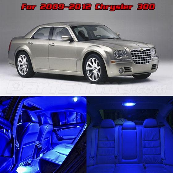 full set blue 17 lights smd led interior package for chrysler 300 300c 2009 2015 ebay