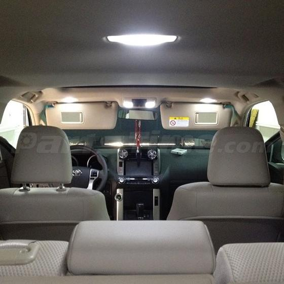 6x White Led Interior Lights Package For 2007 2015 Jeep Patriot Compass Ebay