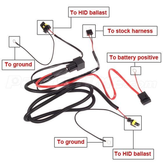 Hid Kit Headlight Relay Wiring Diagram – name