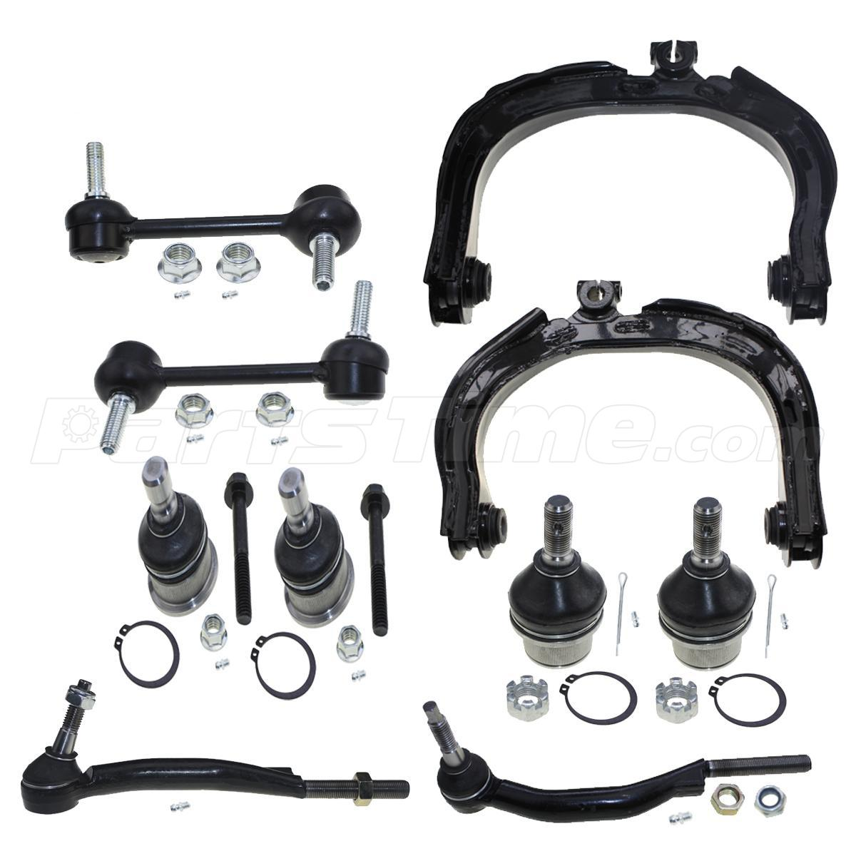 2005 Buick Rainier Rear Air Suspension: 10 PCS Front Suspension Kit Control Arm For 2002-2007
