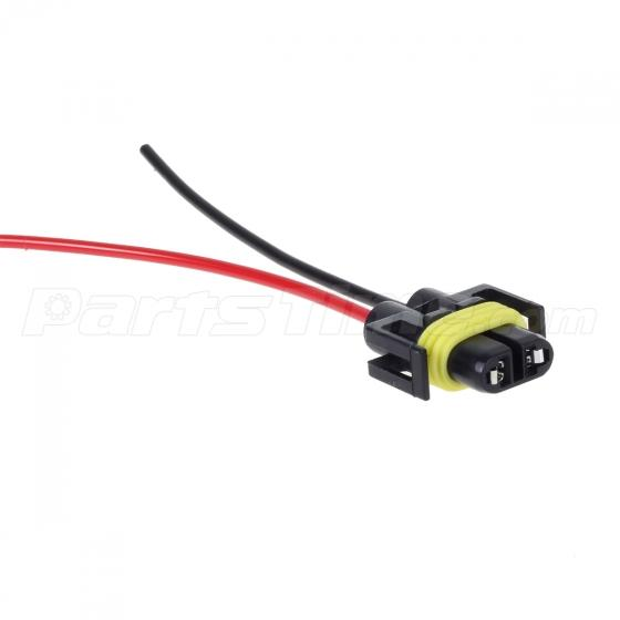 2 h11 h8 h9 wiring harness female socket wire connector plug 2 h11 h8 h9 wiring harness female socket wire connector plug extension pigtail