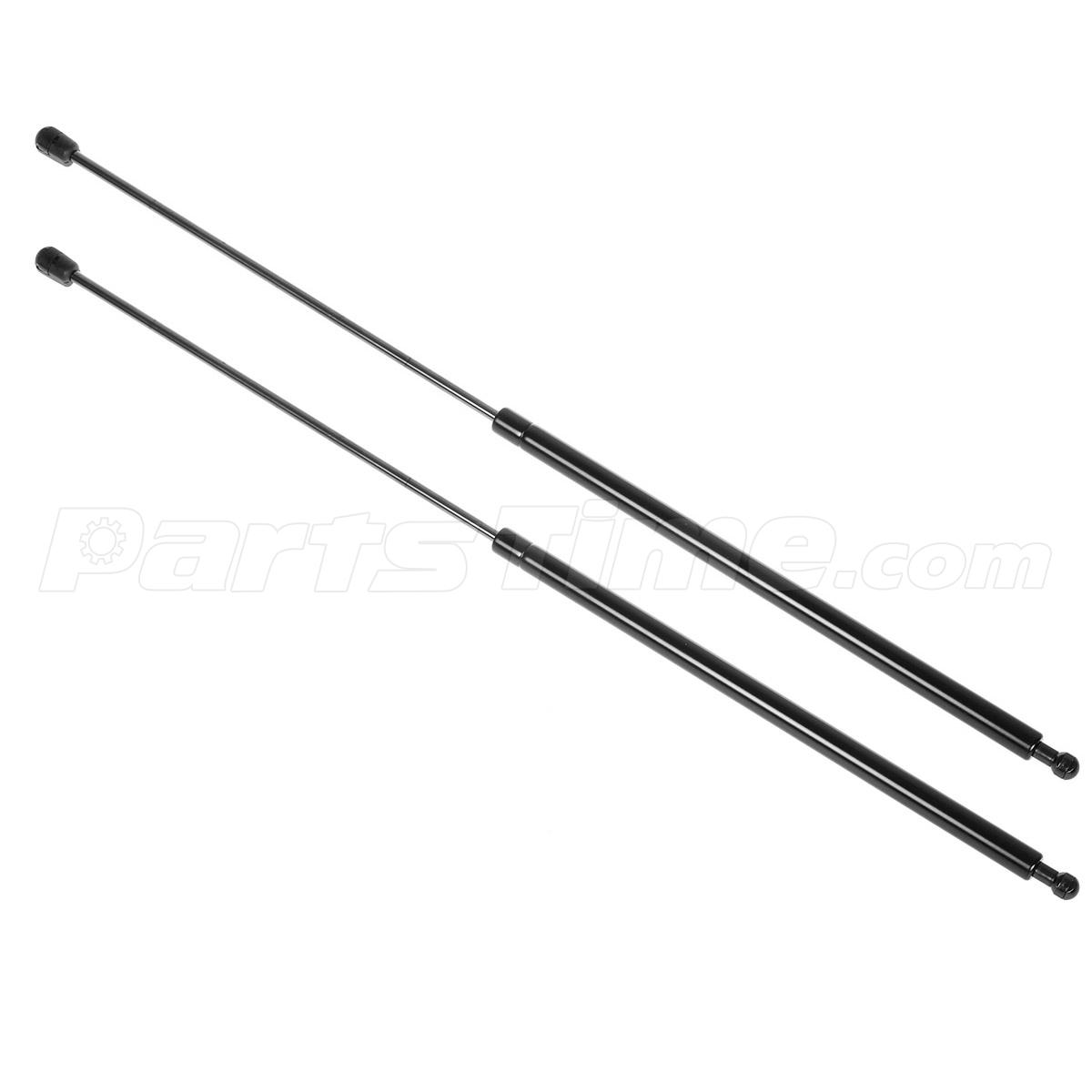 2  front hood gas charged lift support for 2007