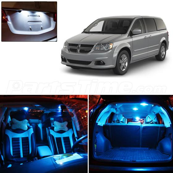 11x Car LED Light Package For 2000-2015 Dodge Grand