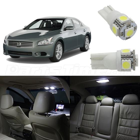 12x super pure white led interior lights package kit for 2009 2015 nissan maxima 2015 nissan altima interior lights