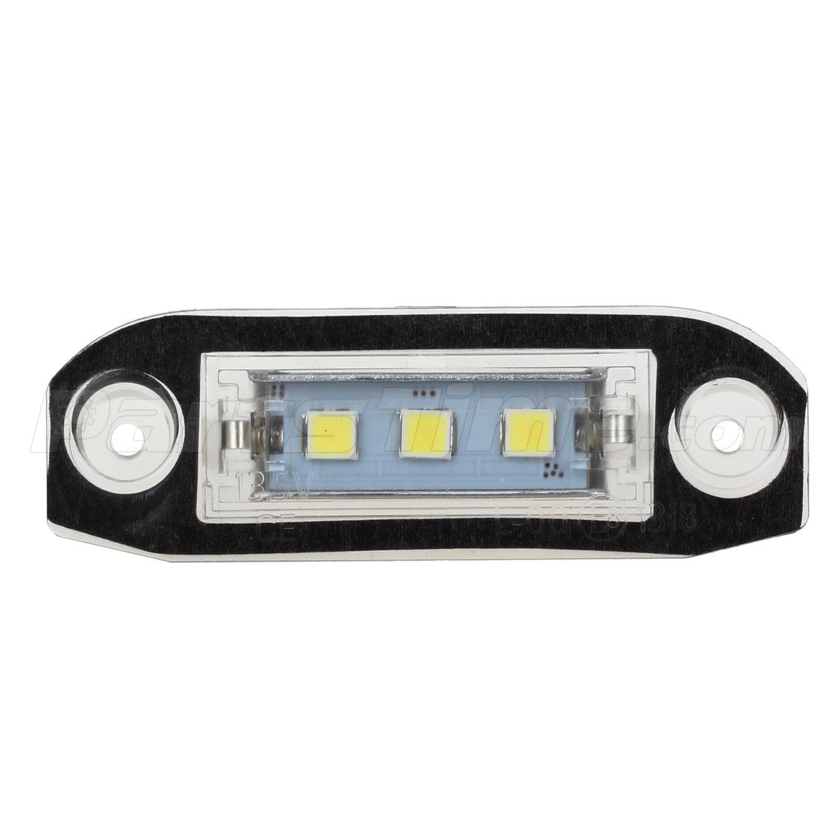 on Volvo C70 License Plate Light