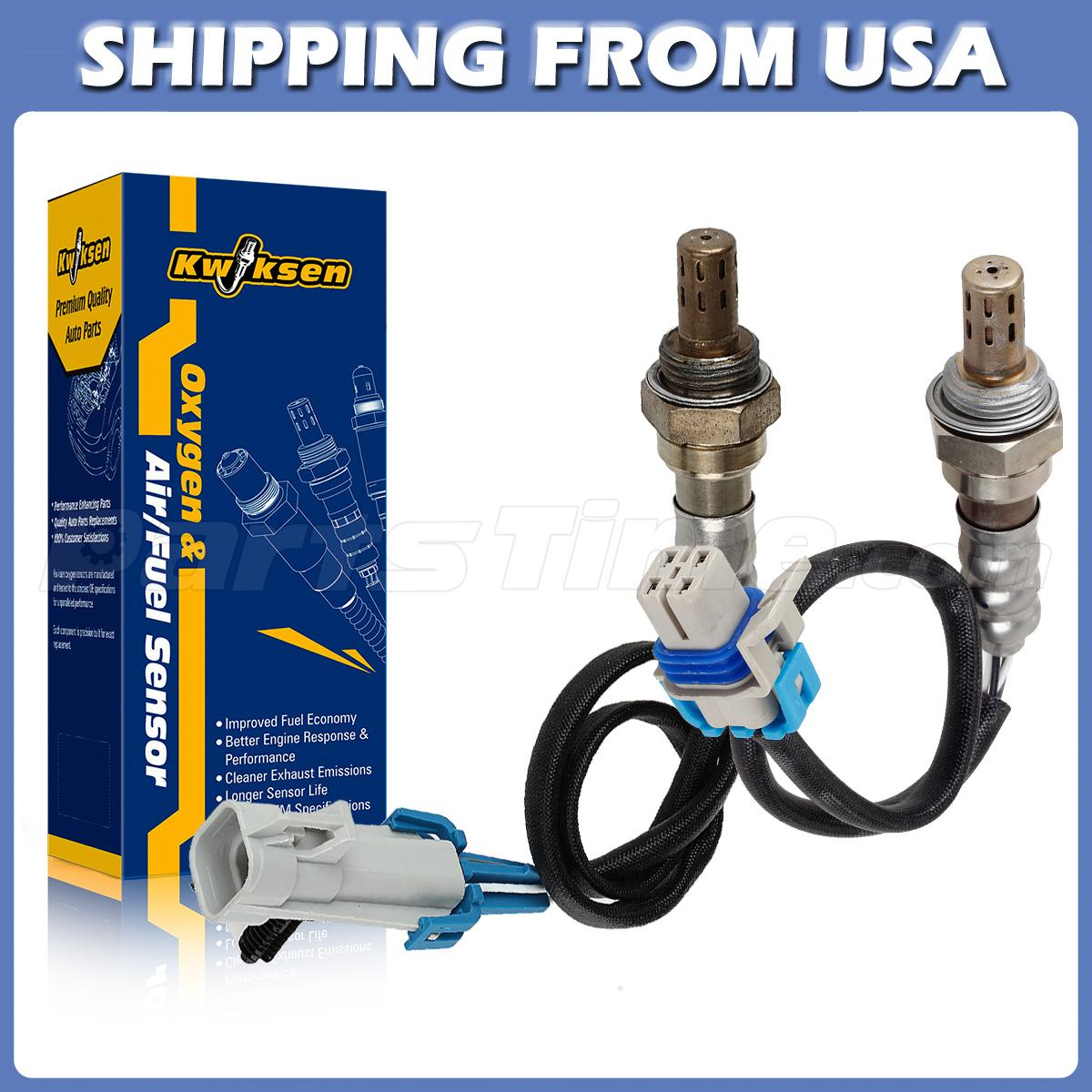 2pcs Oxygen Sensor Upstream Downstream For 05 06 07 Saturn