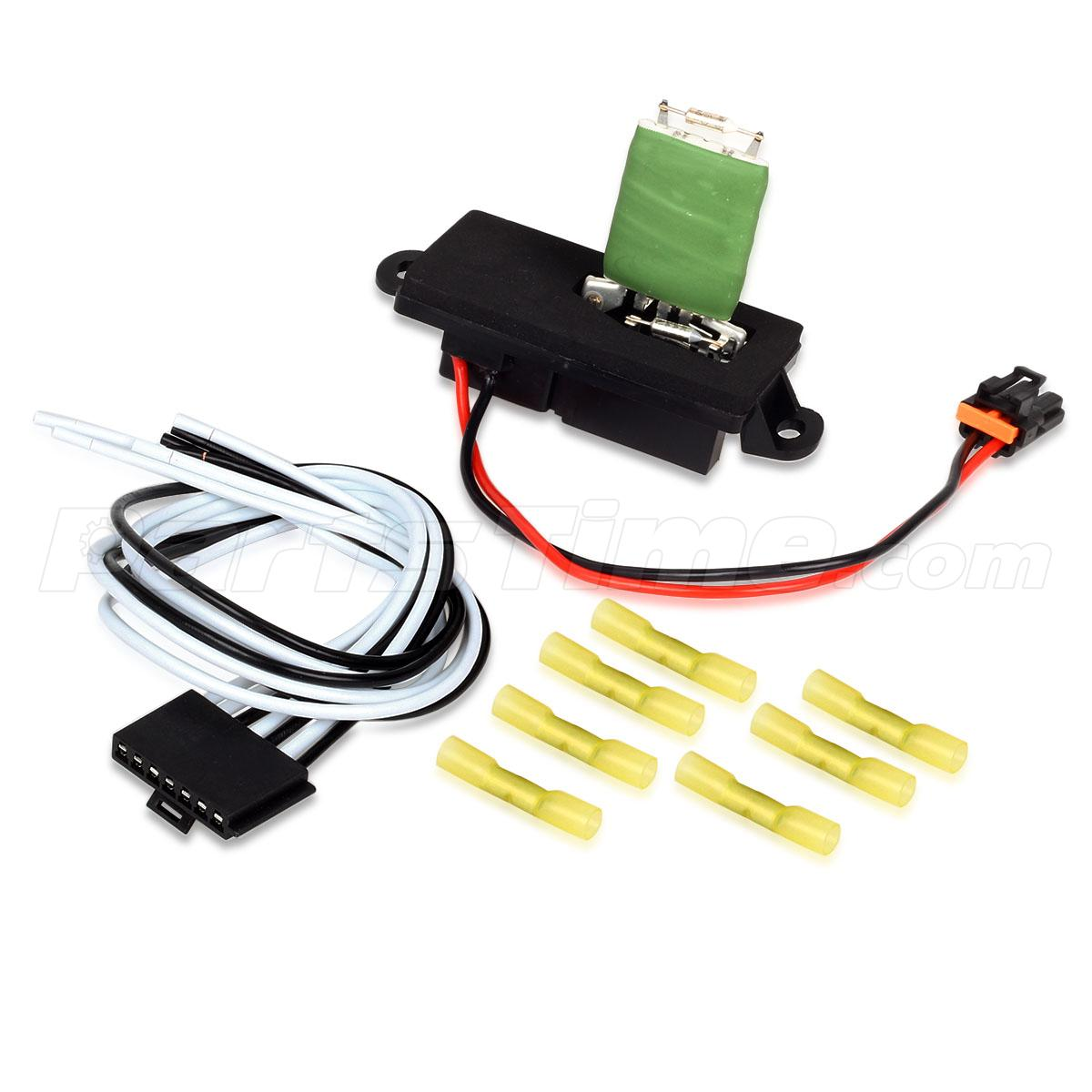 a  c blower motor resistor w  wire harness for chevrolet
