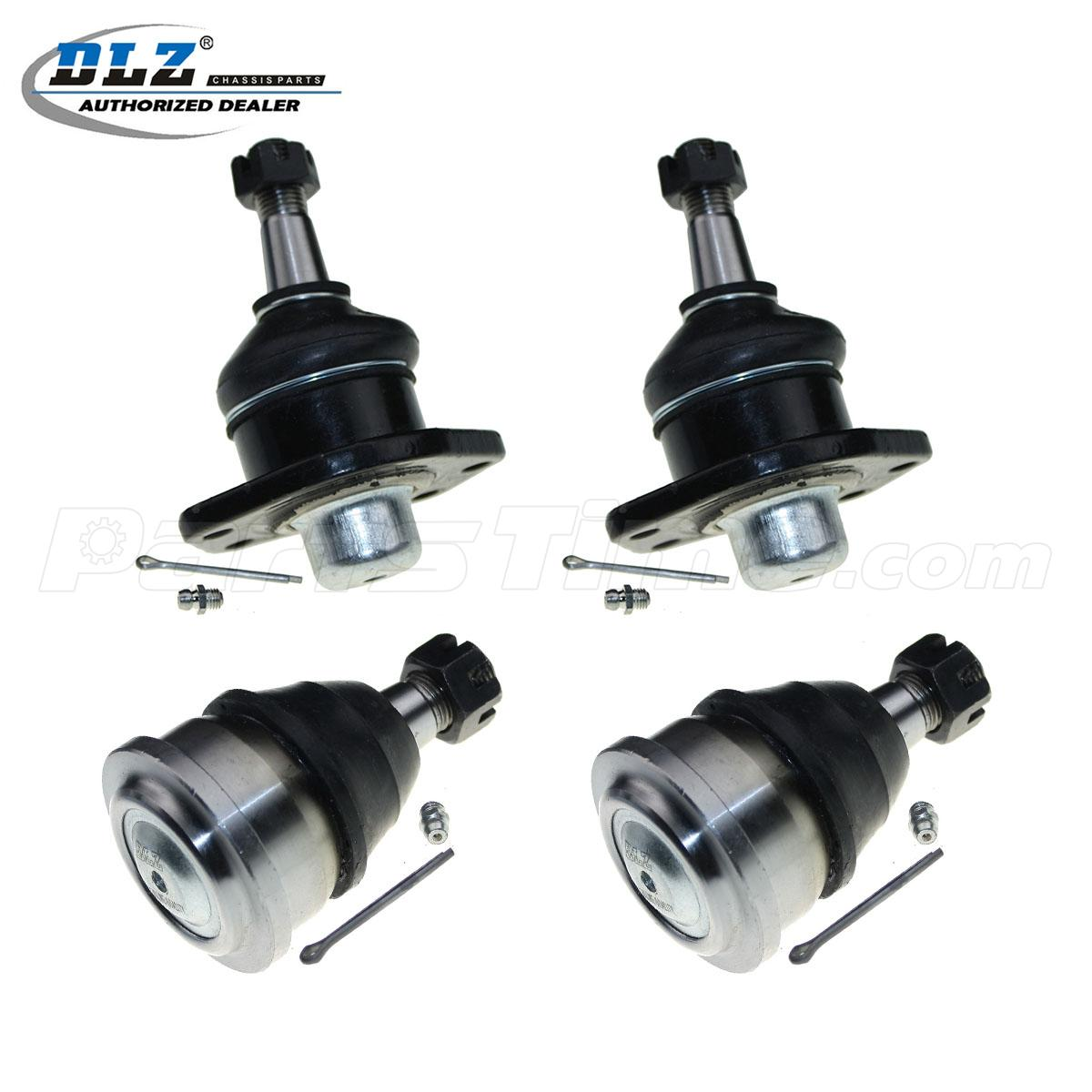 Brand New 4pc Front Lower + Upper Ball Joint Kit For 1971