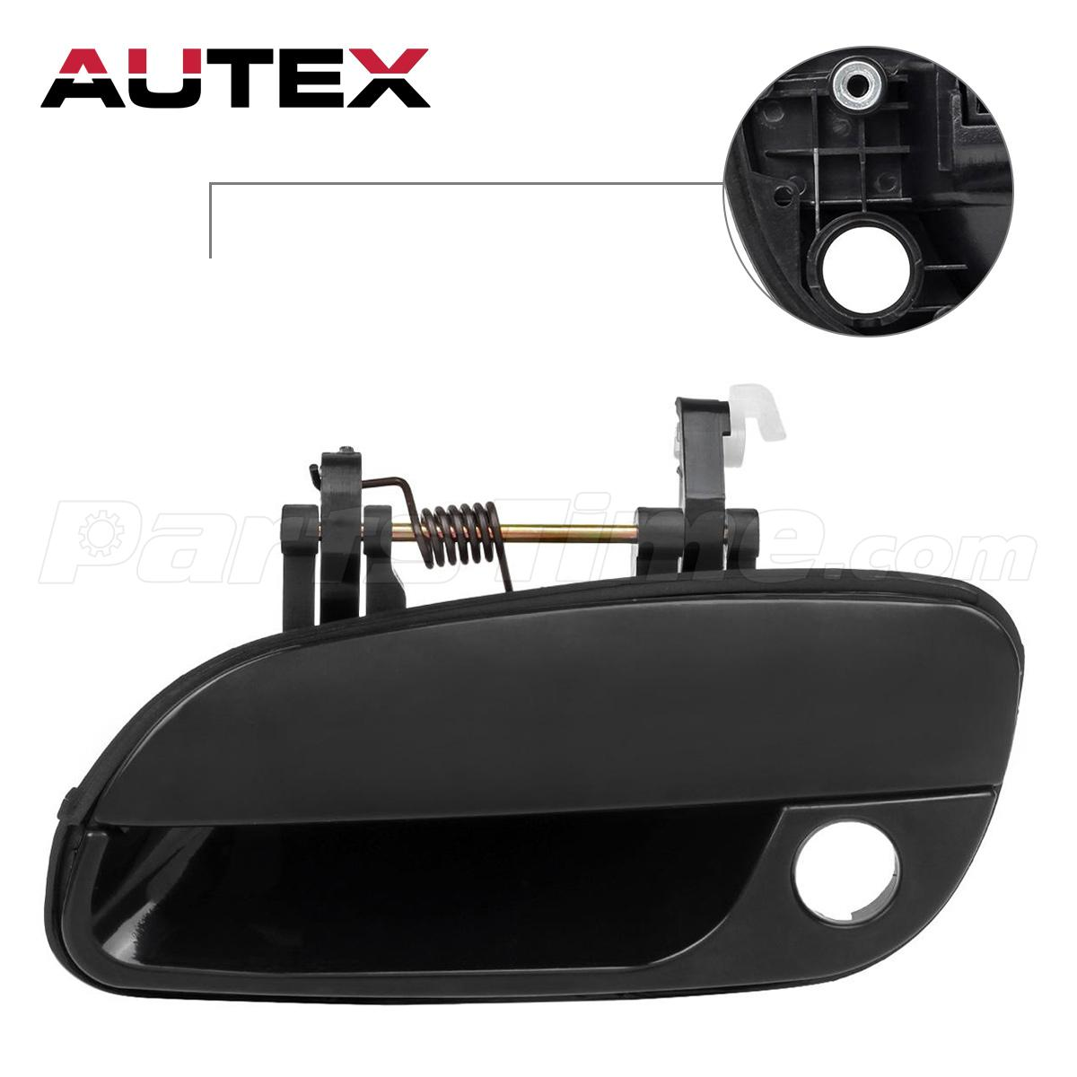 New Black Front Left Outside Exterior Door Handle For 2001 2005 Hyundai Elantra Ebay