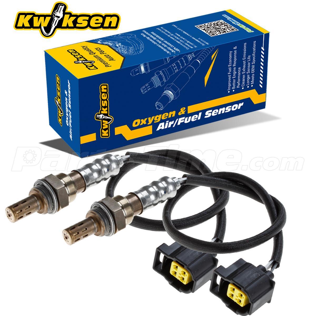 2pcs Upper & Under Oxygen Sensor O2 For 04-09 Chrysler PT
